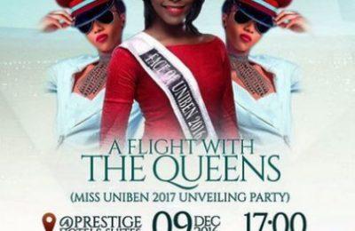 Miss Uniben 2017 Unveiling Party