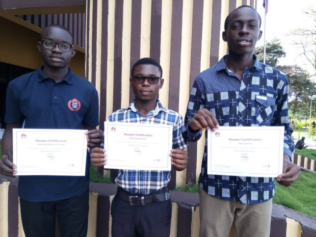 Uniben Students to Head to China after winning Huawei competition